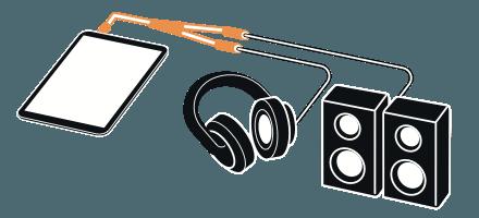Pre-cueing with headphones