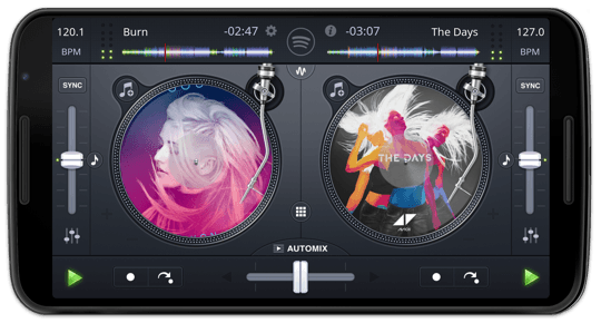 djay for Android - the #1 DJ app with turntables
