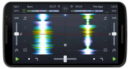 djay for Android - the #1 DJ app with waveforms