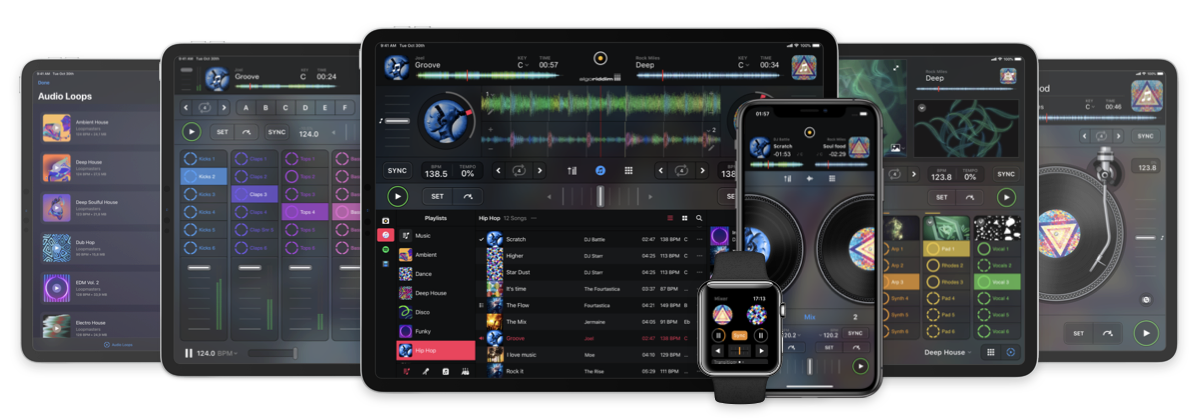 Algoriddim djay - the #1 DJ app for Mac, iOS, Apple Watch and Android