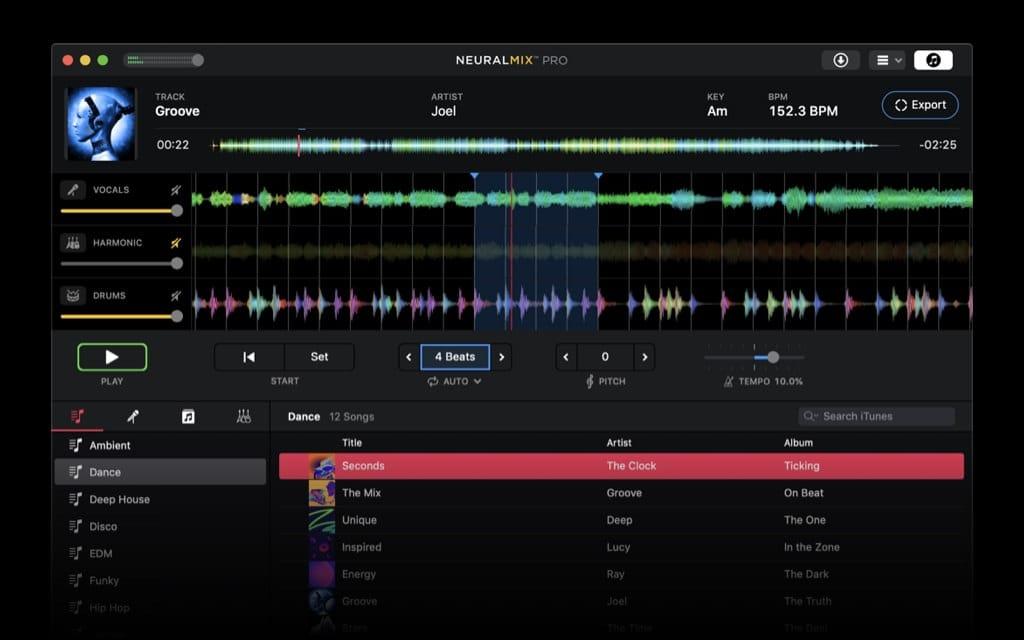 Screenshot Loop Export